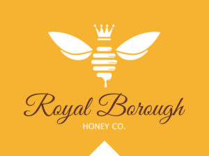 Logo Design Rare Design Royal Borough Honey