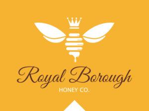 Logo Design Rare Design Royal Borough Honey
