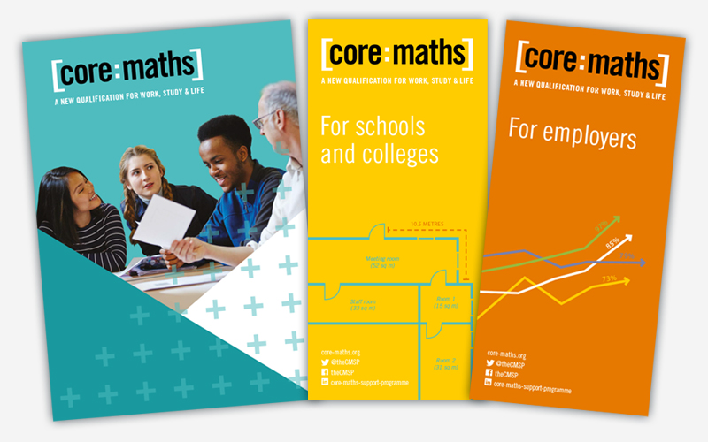 Core Maths – Leaflet Design