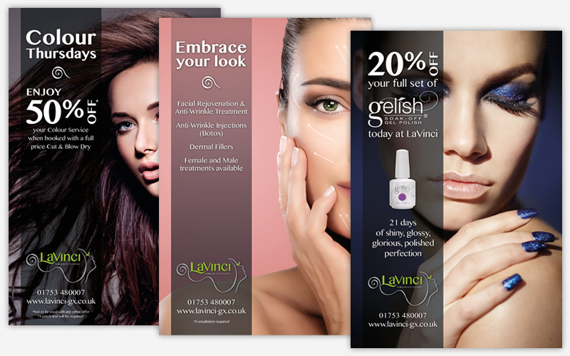 LaVinci Hair & Beauty – Posters