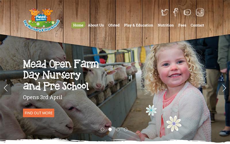 Mead Open Farm Day Nursery – Website