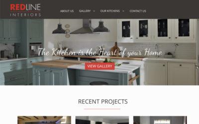 RedLine Interiors website
