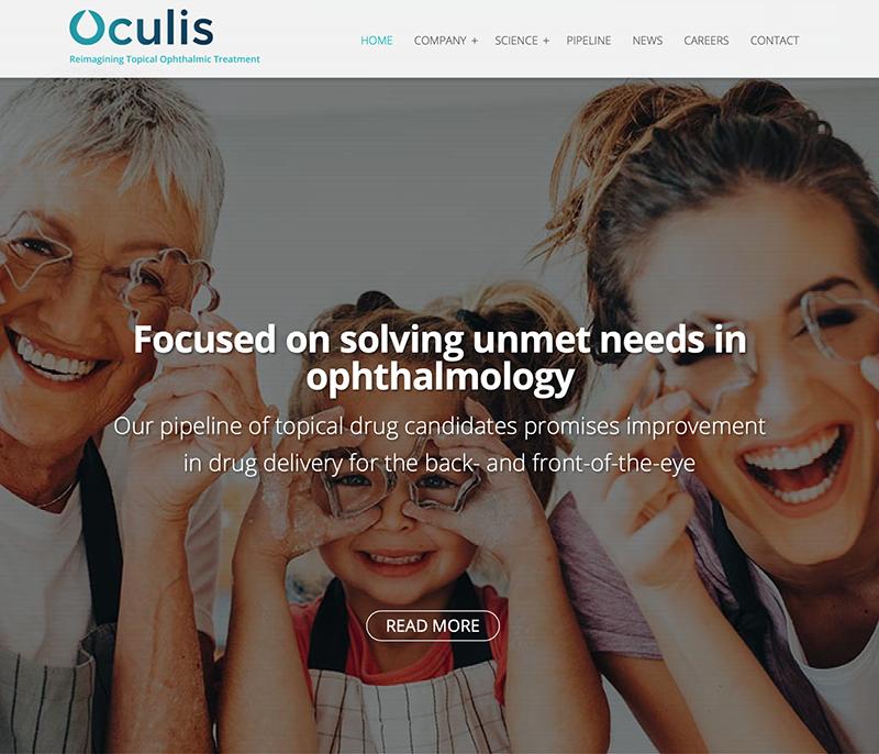 Oculis Website
