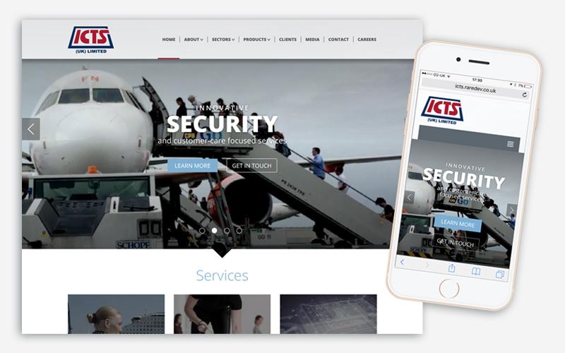 ICTS UK Website