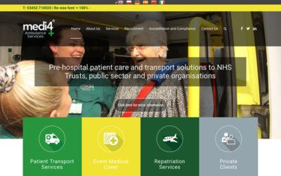 Medi 4 Website