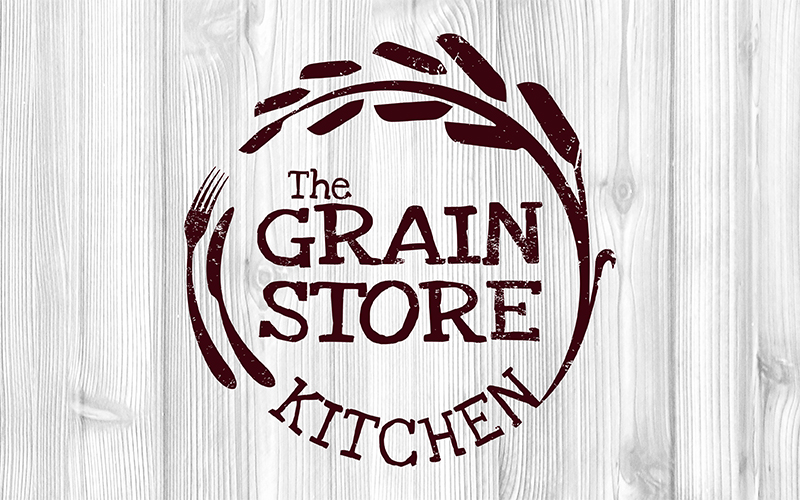 Logo design: The Grain Store Kitchen
