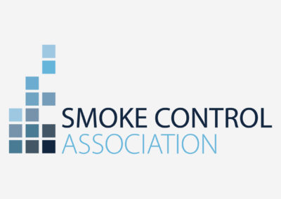 Rare Design: Logo Design Smoke Control Association SCA